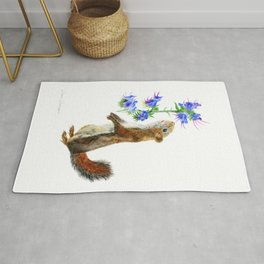 Take Time To Smell The Flowers by Teresa Thompson Rug