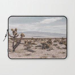 Vintage Desert Hombre // Cactus Cowboy Mojave Landscape Photograph Sunshine Hippie Mountain Decor Laptop Sleeve