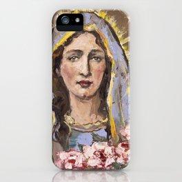 Nativity of Mary iPhone Case