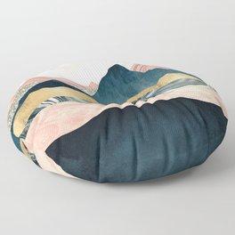 Plush Peaks Floor Pillow