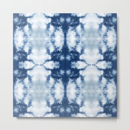 Tie Dye That's Actually Sky oversize Metal Print