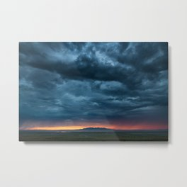 Salt Lake Sky Metal Print