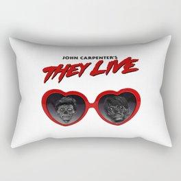 Love They Live Rectangular Pillow