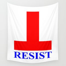 RESIST Compact Wall Tapestry