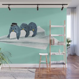 Let's travel the world Wall Mural