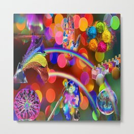 Light & Color Therapy Metal Print