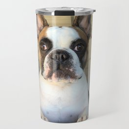 French Bull  Dog  Puppies Travel Mug