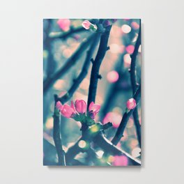 Spring Bling Bling Metal Print