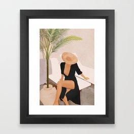 That Summer Feeling I Framed Art Print