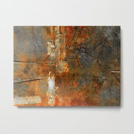 Rust Texture 72 Metal Print