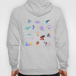 final fantasy logo pattern Hoody