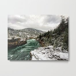 Wintergreen River Metal Print