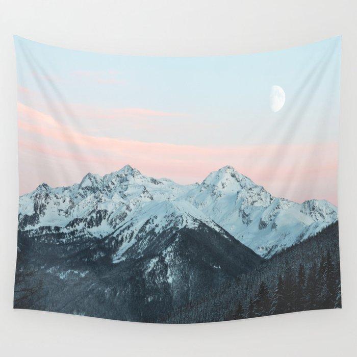mountain Wandbehang