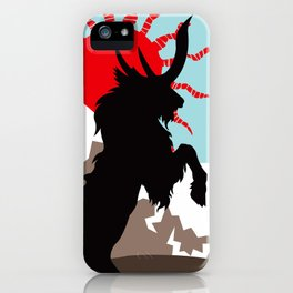 Shadow of the Kirin iPhone Case