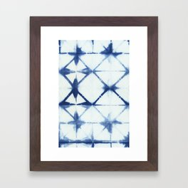 Shibori Thirteen Framed Art Print