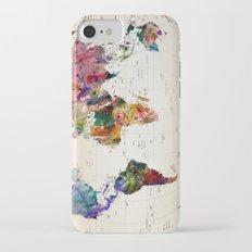 map iPhone 8 Slim Case