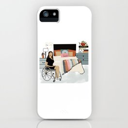 Inclusive love at home iPhone Case