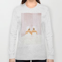 Morning with a friend Long Sleeve T-shirt