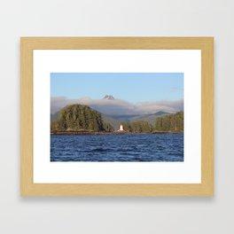 SITKA LIGHTHOUSE Framed Art Print