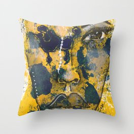 Come Thru Royal Throw Pillow