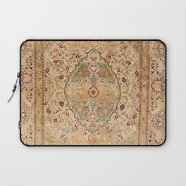 Silk Tabriz Azerbaijan Northwest Persian Rug Print Laptop Sleeve
