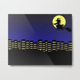 Halloween city Metal Print