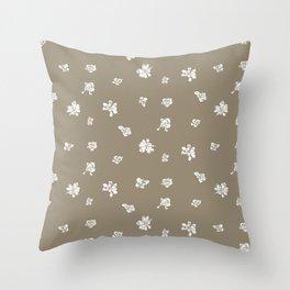 Capo Blanco - Gold Throw Pillow