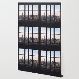 new york city skyline Wallpaper