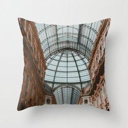 Galleria Vittorio Emanuele II, II Throw Pillow
