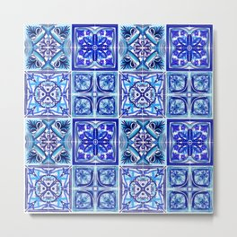 Patterned Tiles no 1 Metal Print