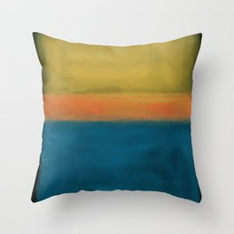 Rothko Inspired #3 Throw Pillow
