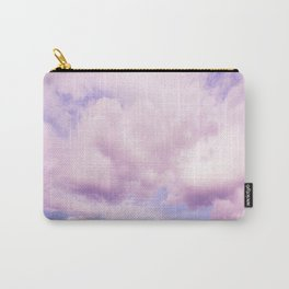 Pink Clouds In The Blue Sky #decor #society6 #buyart Carry-All Pouch