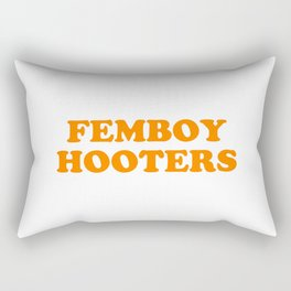 Femboy Hooters Rectangular Pillow
