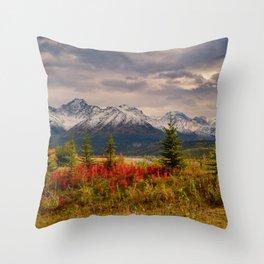 Seasons Turning Throw Pillow