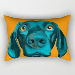 The Dogs: Buddy Rectangular Pillow