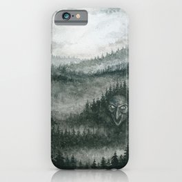 Here There Be Trolls iPhone Case
