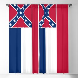 Mississippi State Flag Blackout Curtain