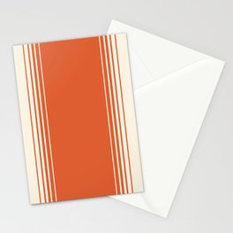 Marmalade & Crème Vertical Gradient Stationery Cards