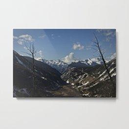 Silverton Valley - Colorado Metal Print