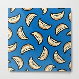 Gyoza Dumpling Pattern Metal Print