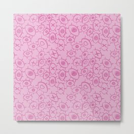 Over-stimulation (Pink) Metal Print