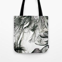 Twilight Jungle Tote Bag