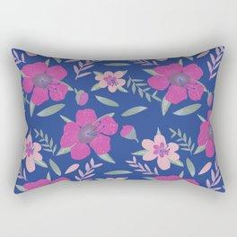 Teatree Inspired Floral Pattern Rectangular Pillow