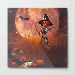 Cute little witch Metal Print