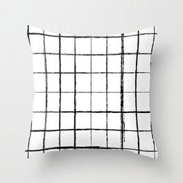 Chicken Scratch #619 Throw Pillow
