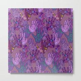 Give Me 5 [Hand Prints] Metal Print