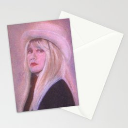 Stevie Nicks Lady from the mountain Stationery Cards