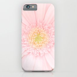 Pink Gerber | Flower Photography | Floral | Happy | Love iPhone Case