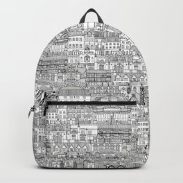 Cambridge toile mono Backpack