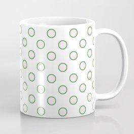 Retro Polka Dots Coffee Mug